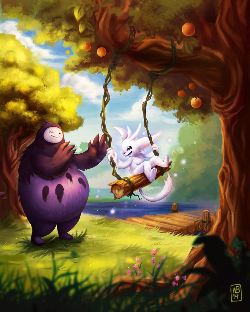 Ori by SuperKaninja
