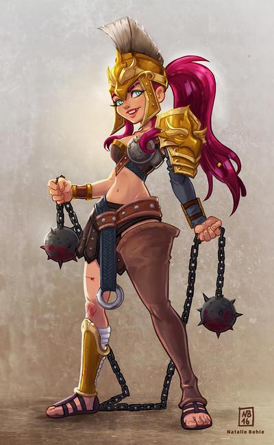 Gladiator by SuperKaninja