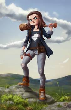 Arya Stark for Character design Challange
