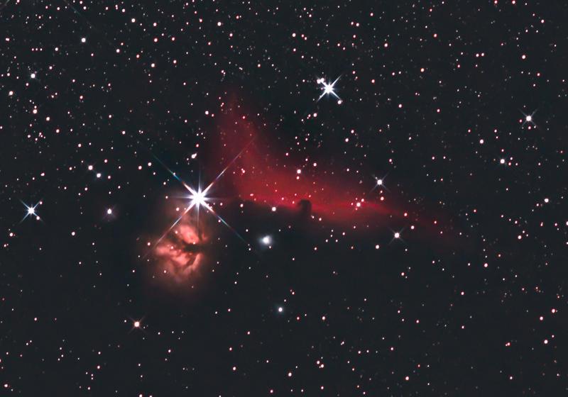 nebula in orion the horsehead nebula - photo #27