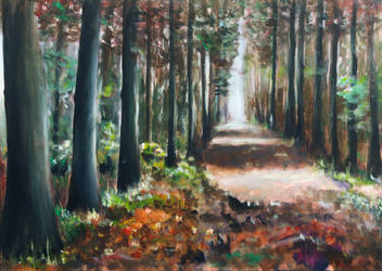 Pathway to Autumn II by rollarius55