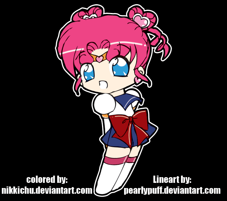 Nikkichu: Sailor Chibi Chibi Moon By Nikkichu On DeviantArt