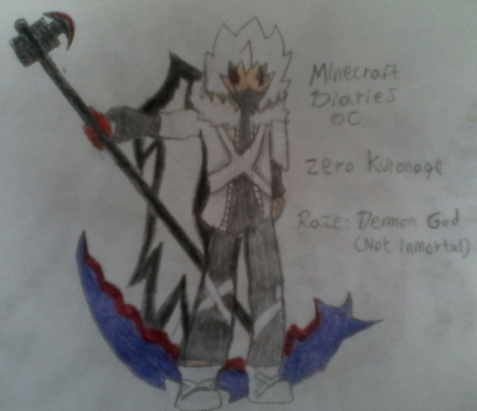 Zero Kuronage (Minecraft Diaries) by ZeroTategami132584