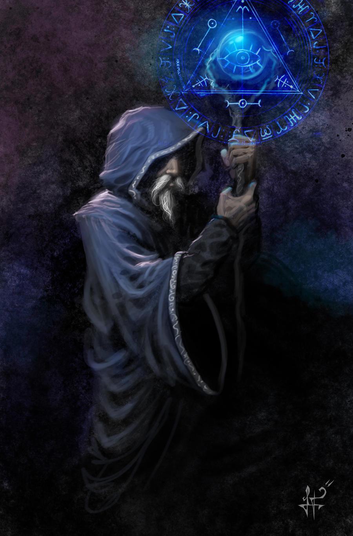 Tarot - El mago by demitrybelmont
