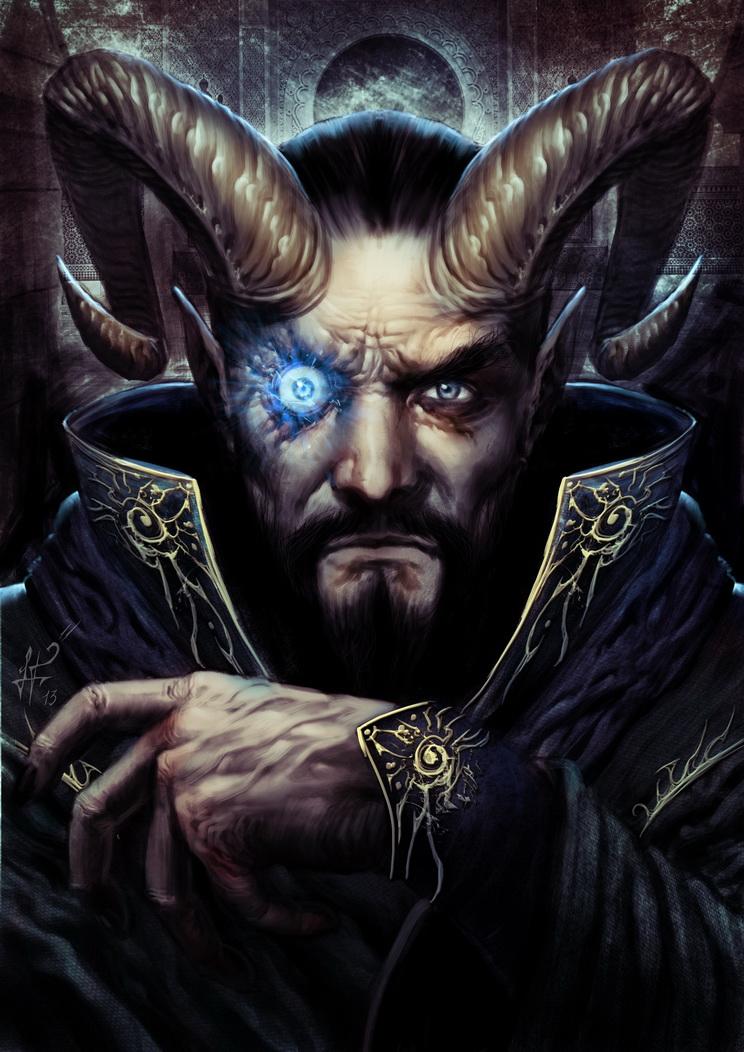 Brujo - Wizard by demitrybelmont
