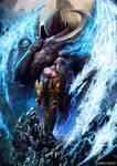 Barbarian Heroe from Diablo 3