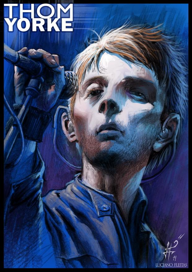 Thom Yorke by demitrybelmont