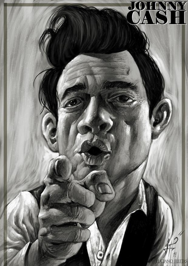 Johnny Cash by demitrybelmont