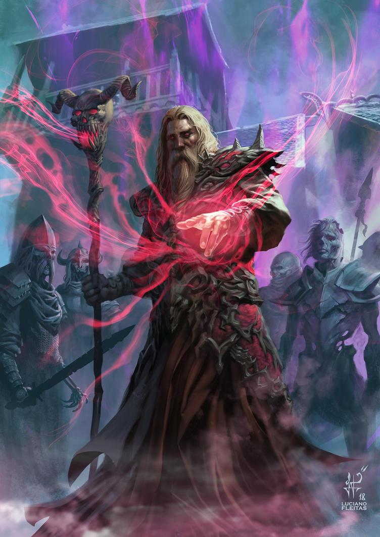 Necromancer by demitrybelmont