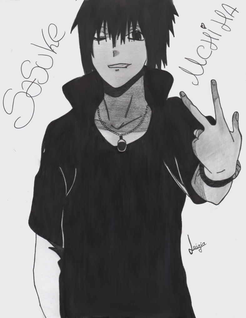 Sasuke Uchiha (Road to ninja) by SasukeLuigiaMurtagh