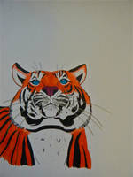 Jaya the Sumatran Tiger by originofemilie