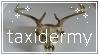 taxidermy stamp by springrape