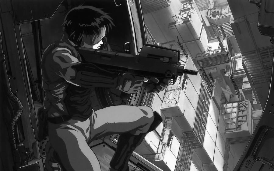 Major Kusanagi by DelAn0