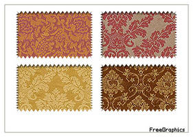 Damask Pattern Pack 7 by Kihaad