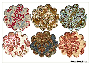 Damask Pack Pattern 8 by Kihaad