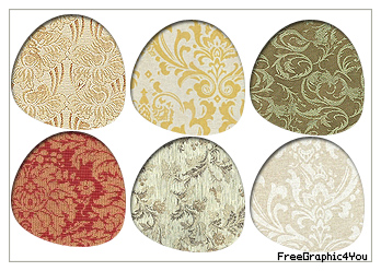 Damask Pattern Pack 9 by Kihaad