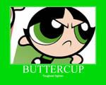 Buttercup Motivational Poster