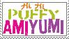 Puffy AmiYumi stamp by DarkRoseDiamond123