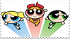 Powerpuff Girls stamp by ComeAndJoinTheBand