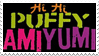 Puffy AmiYumi logo stamp by ComeAndJoinTheBand