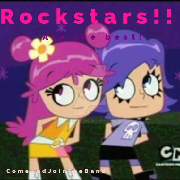 Best show, best rockstars by DarkRoseDiamond123