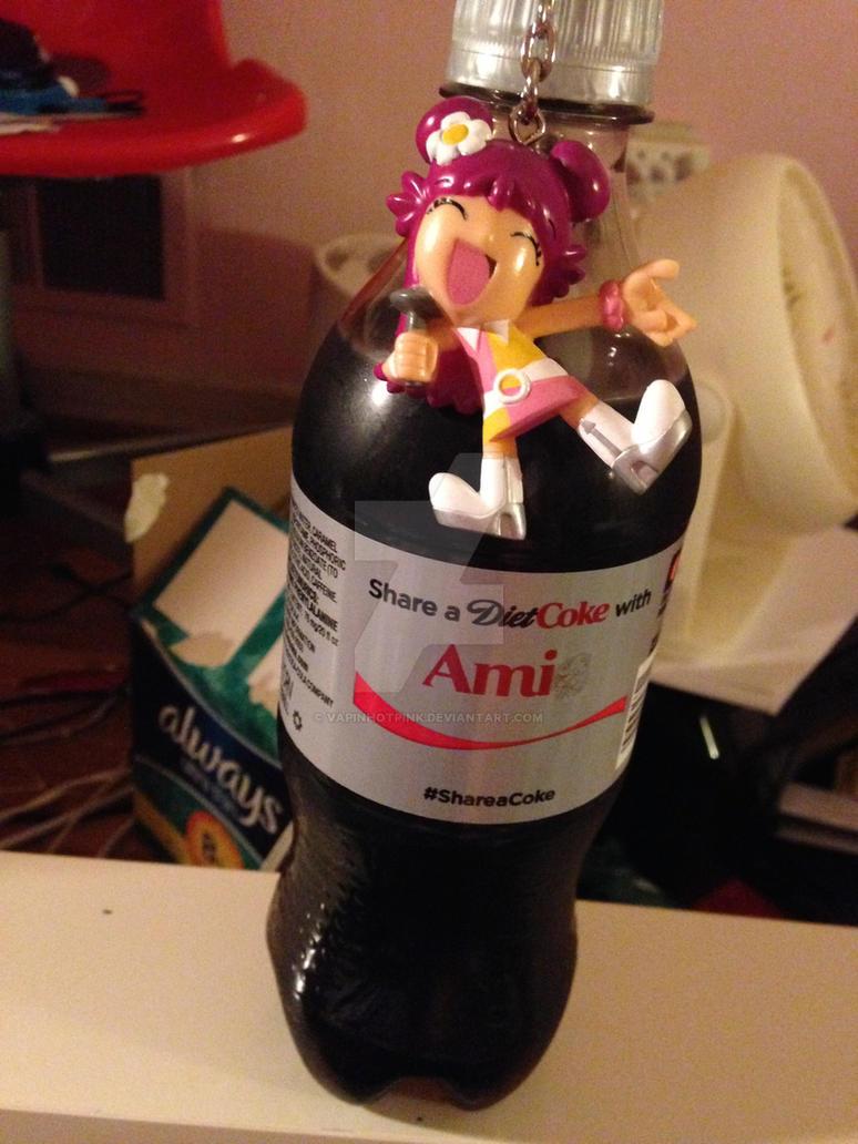 Ami Onuki Share A Coke by DarkRoseDiamond123