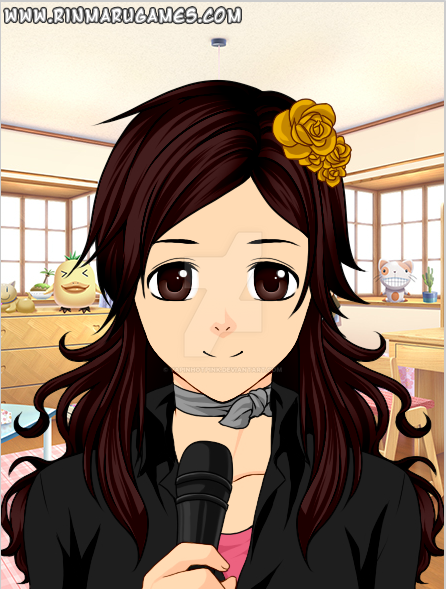 Anime face real life Ami by DarkRoseDiamond123