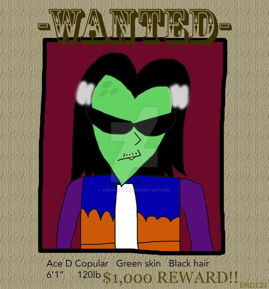 Wanted: Ace Copular! by DarkRoseDiamond123