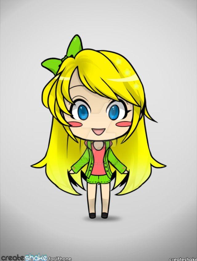 Chibi avatar Harmony by DarkRoseDiamond123