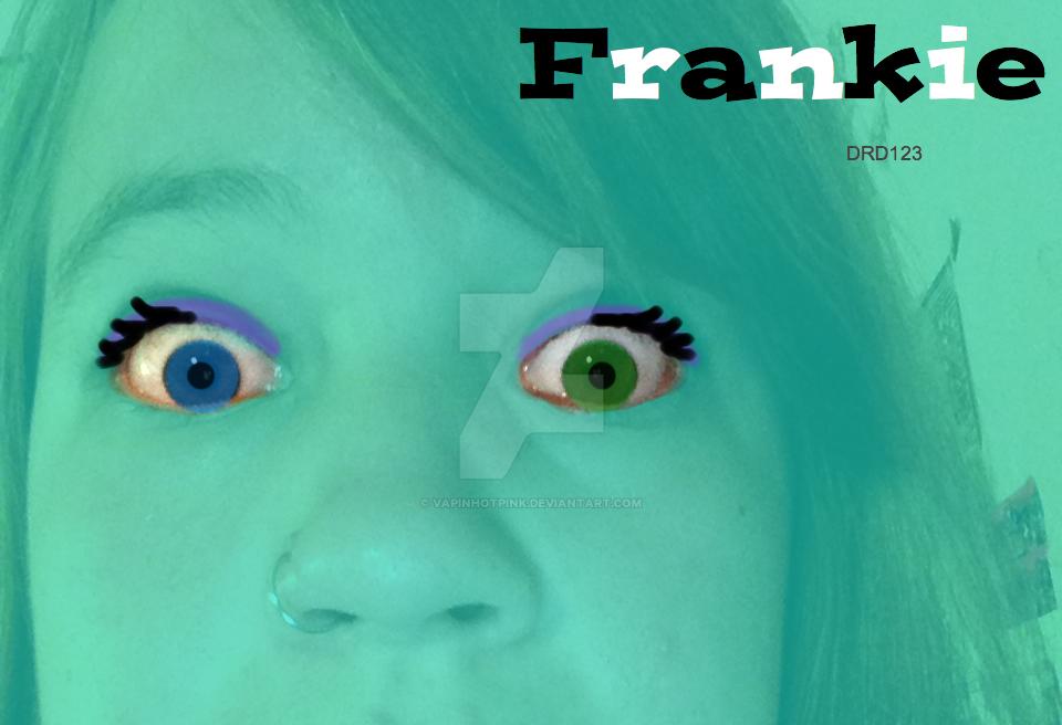 Me in Frankie's eyes by DarkRoseDiamond123