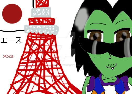 Anime Ace of Japan by DarkRoseDiamond123