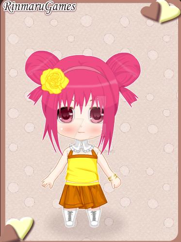 Chibi Anime Ami by DarkRoseDiamond123