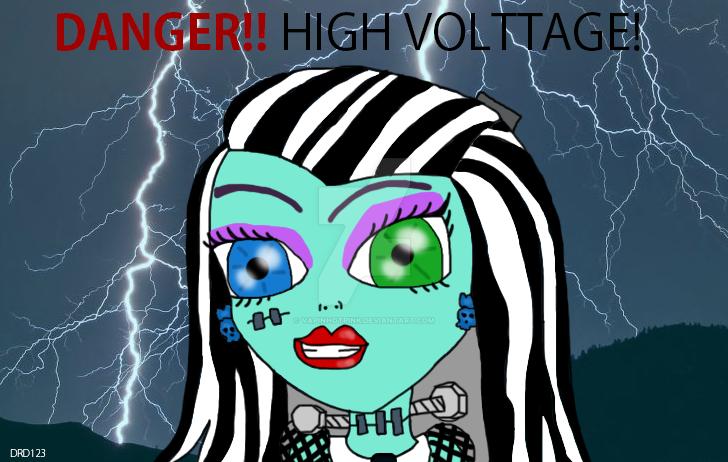 High Voltage Frankie by DarkRoseDiamond123