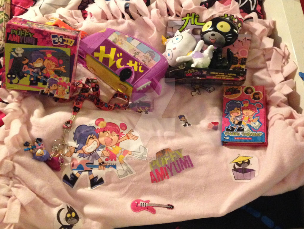 Hi Hi Puffy AmiYumi collection (as of now) by DarkRoseDiamond123