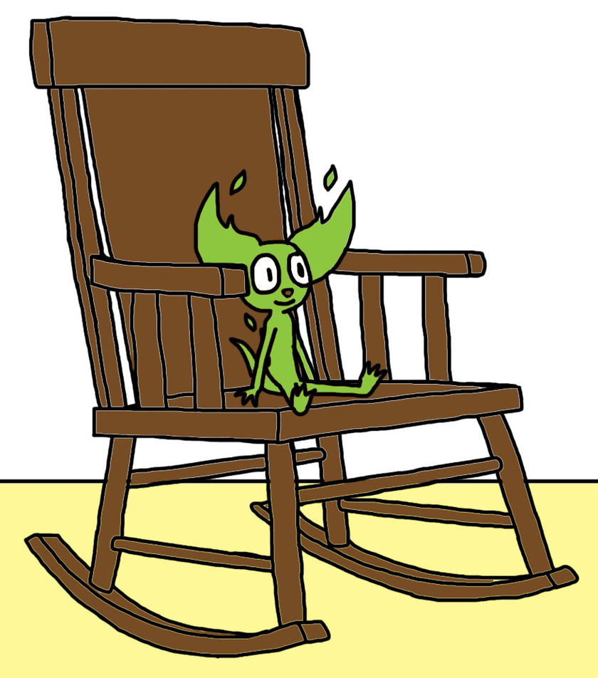 Dtc rocking chair by art of gameland on deviantart