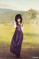 Purple Lady by bwaworga