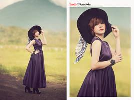 Purple Lady v.2 by bwaworga