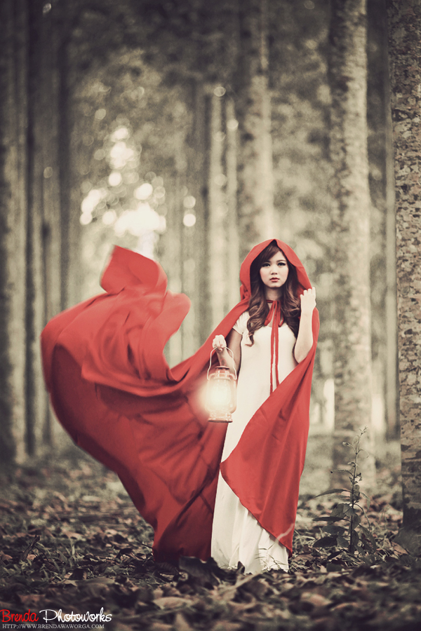 Red riding hood v.1 by bwaworga on DeviantArt