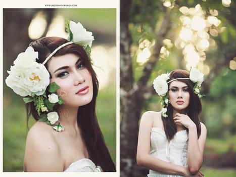 white flower v.2