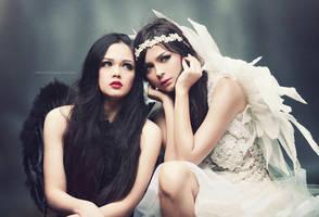 Angels by bwaworga