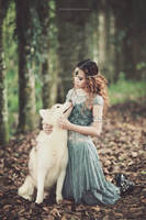 Raised by the wolf by bwaworga