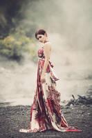 Red dress by bwaworga