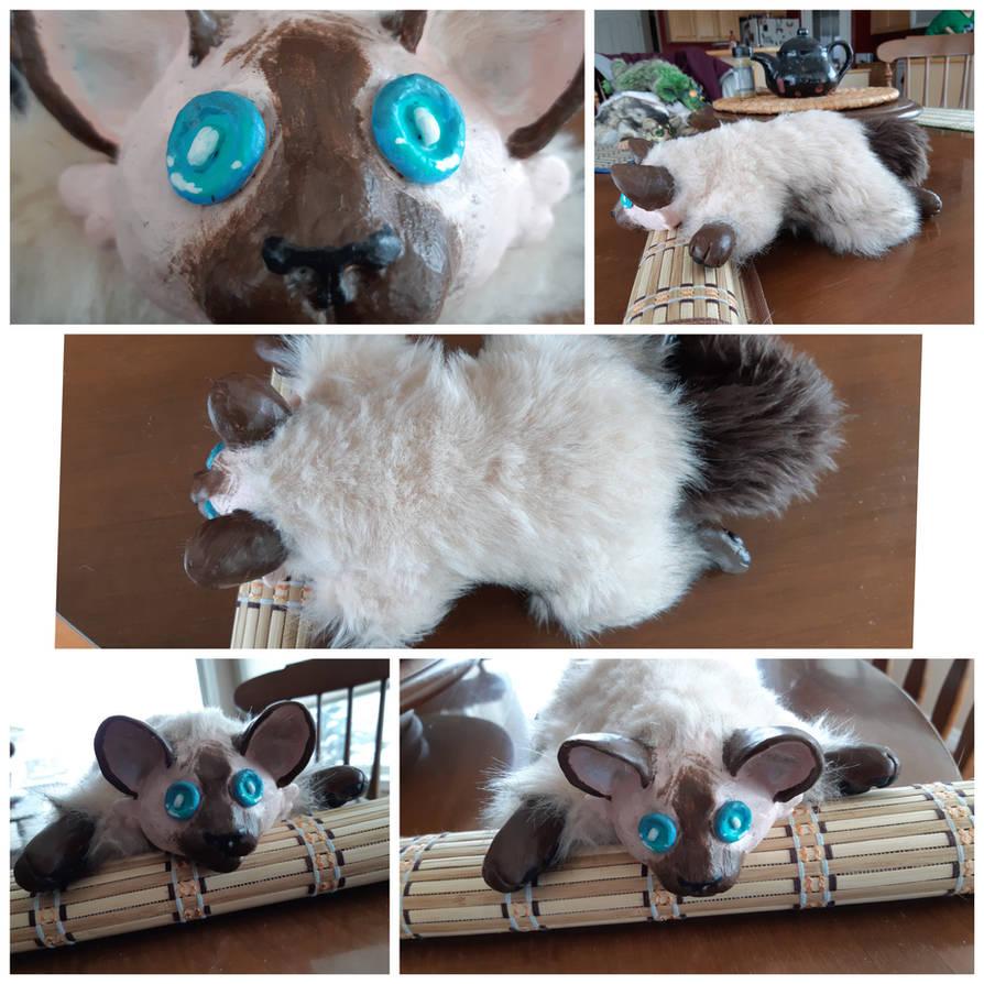bdac01147455 Seal point cat Ooak art doll. by DappleFox on DeviantArt