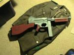 Thompson submachine gun prop