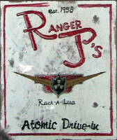 Dieselpunk post-apoc sign by PanzerForge