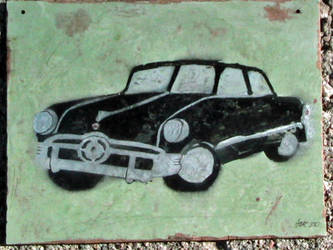 1950 Ford stencil by PanzerForge