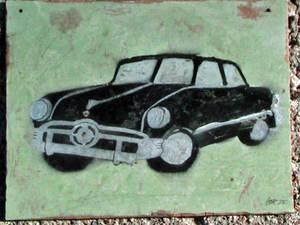 1950 Ford stencil