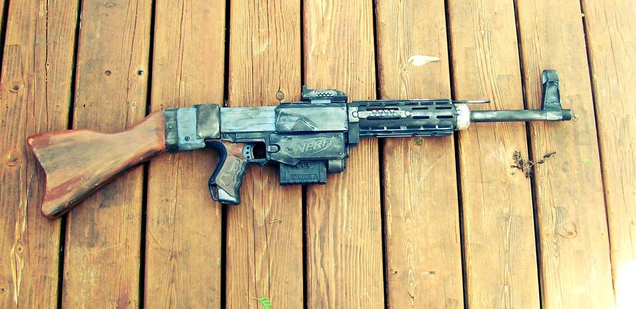 GirlyGamerAU 67 19 Nerf Recon 'Sturmgewehr' by PanzerForge