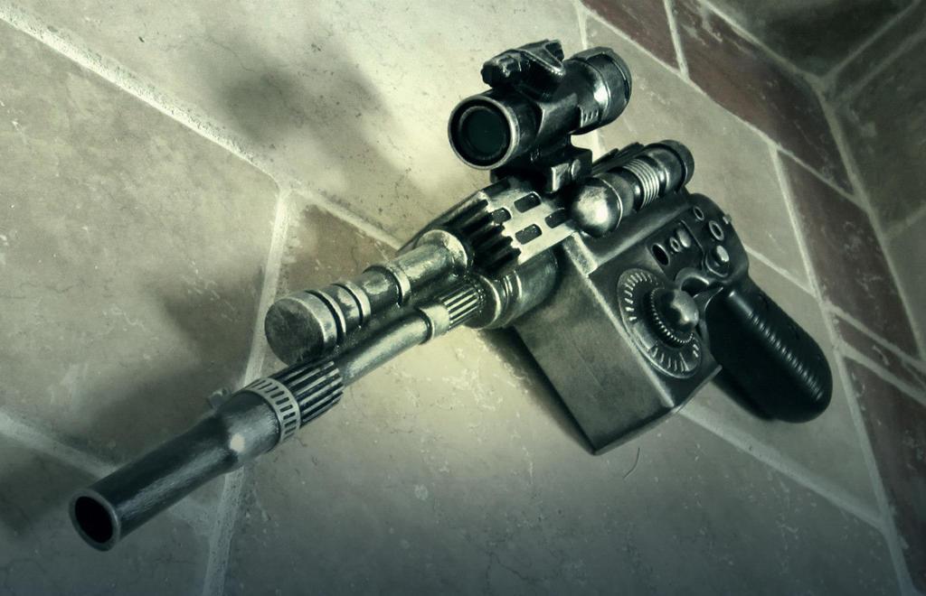 Blastech DL-44 prop by PanzerForge