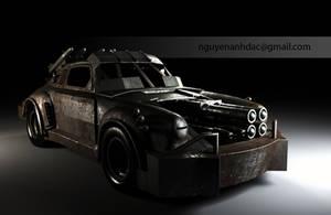 Death Race - 14K Porche 911 by nguyenanhdac